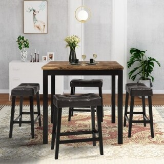 Carbon Loft Jeong 5-piece Counter Height Dining Set