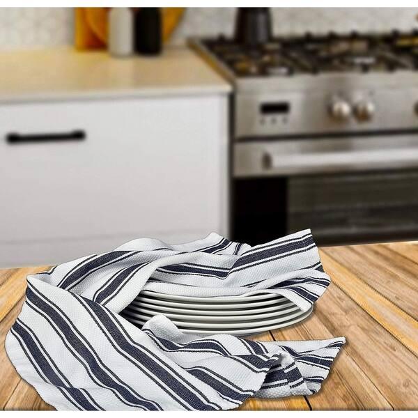 Dish Towels 6 Pack 18x28 Basket Weave