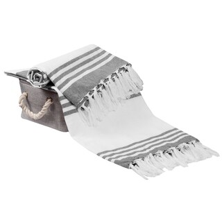 Glamburg Peshtemal Turkish Beach Towels,Ultra Soft, Absorbent and Everyday Use Beach Towels