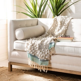 """Link to Safavieh 50"""" x 70"""" Popper Throw Similar Items in Blankets & Throws"""