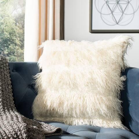 Renda Faux Fur Pillow