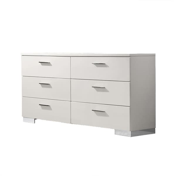 Best Quality Furniture Rose Dresser with Mirror or Dresser Only