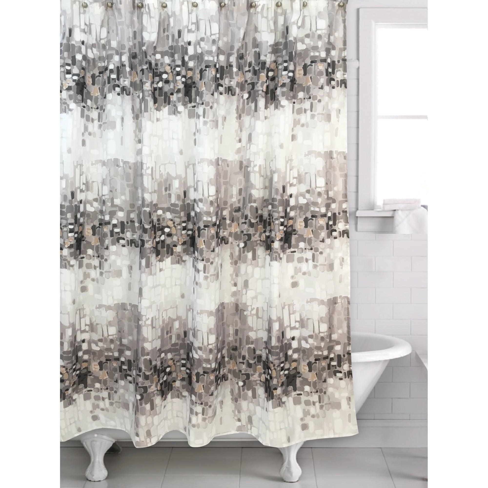 gold shower curtain hooks walmart
