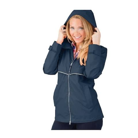 Charles River Women's 2XL Englander Jacket, Navy