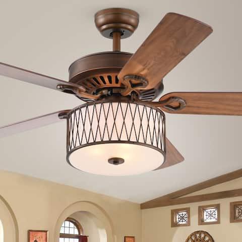 Copper Grove Vinh 52-inch Bronze Ceiling Fan