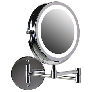 Shop Danielle Wall Mount 10x Lighted Mirror Overstock