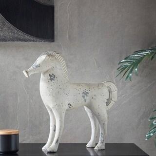 Madison Park Luke Gray Wash Ecomix Horse