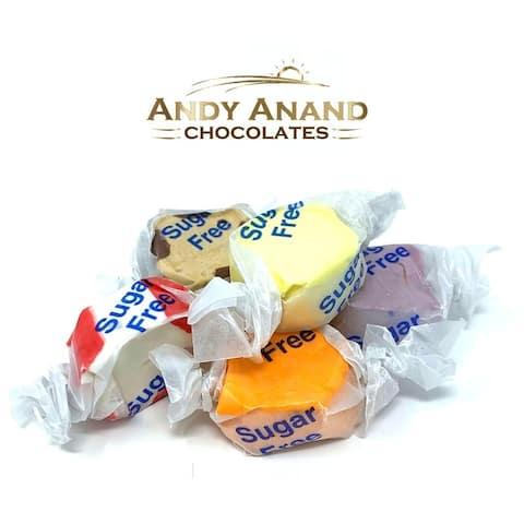 Andy Anand Salt Water Taffy Sugar Free Gift Box Free Air Shipping 1 lbs