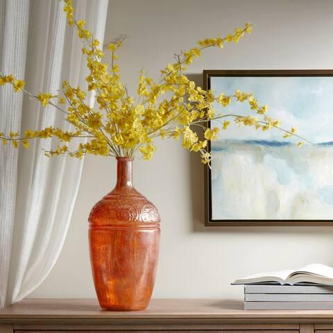 Madison Park Hobro Brown Glass Vase