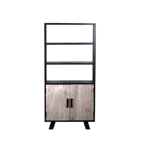 Cosmpolis Solid 2 Dorr, Triple Shelf Bookshelves