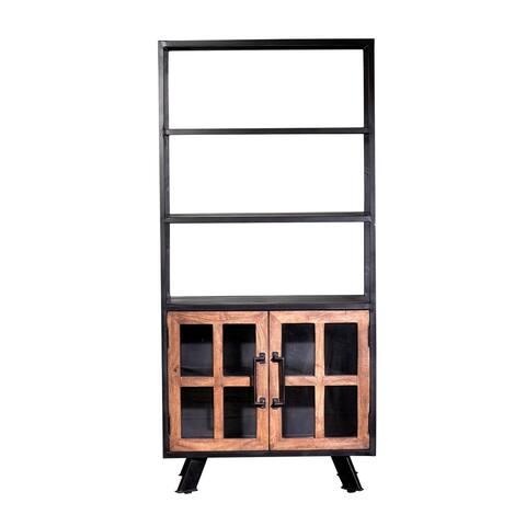 Roma Double Cabinet, Triple Shelf Bookshelves