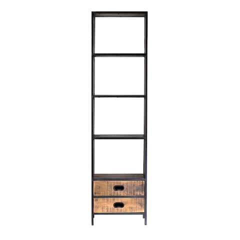 "Milano 2 Drawers 22"" Bookshelves"