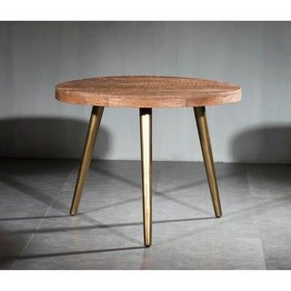 Link to Carson Carrington Ilvad Solid Wood Iron Dining Table Similar Items in Dining Room & Bar Furniture