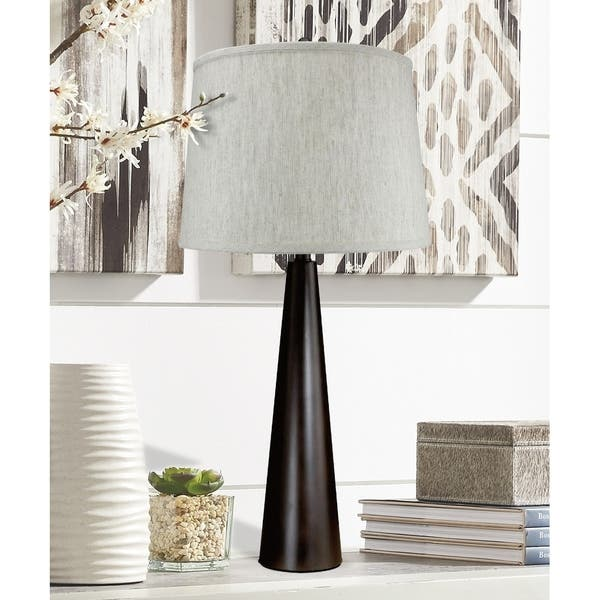 Pascal Table Lamp With Oatmeal Shade