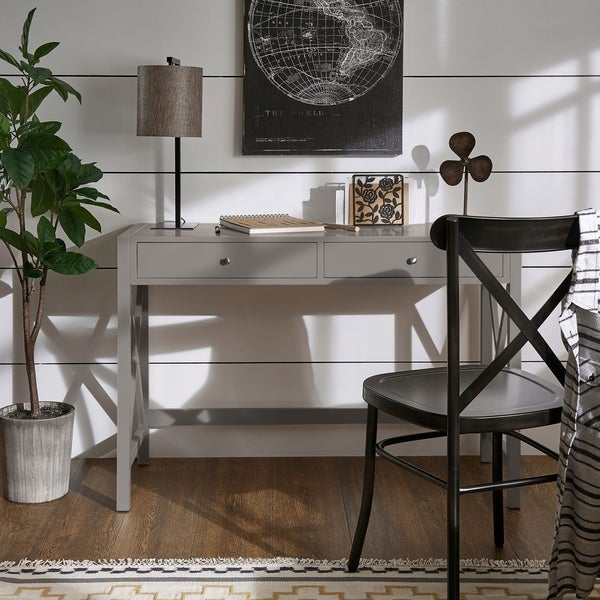 Keenland X-Frame Desk by iNSPIRE Q Classic