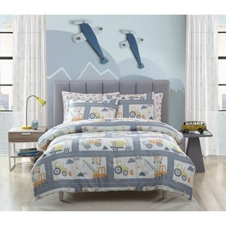 Taylor & Olive Kids Construction Comforter Set