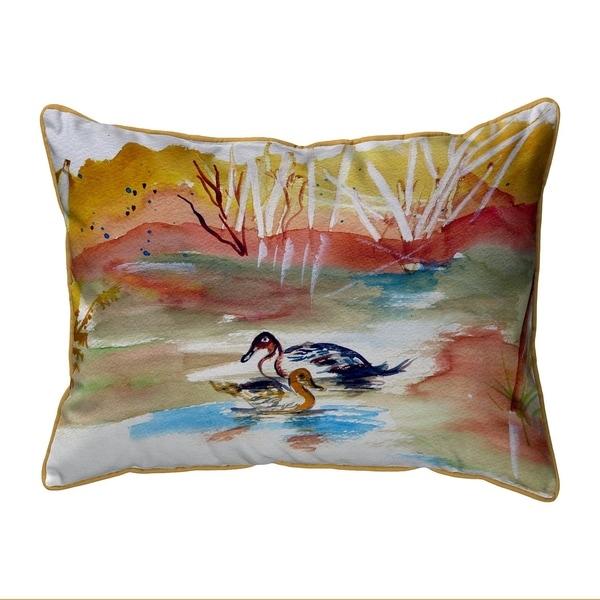 Redhead Pair Large Pillow 16x20