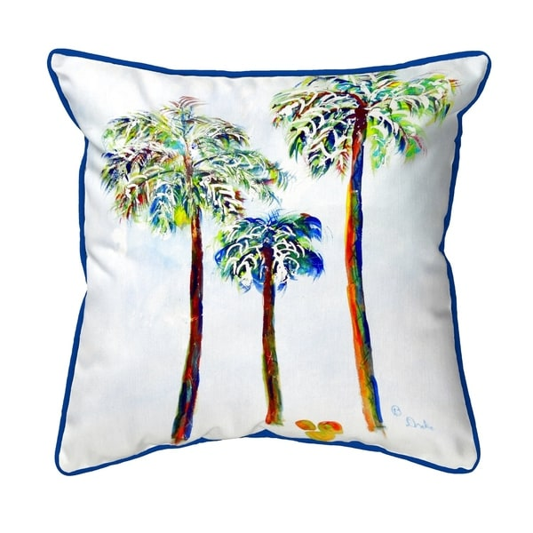 Three Palms Large Pillow 18x18