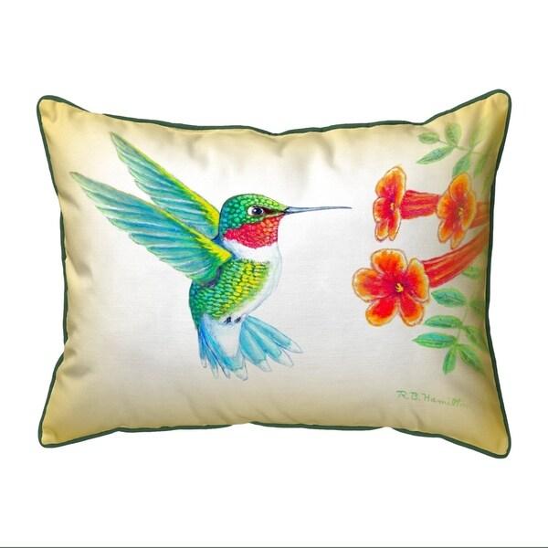 Dick's Hummingbird Large Pillow 16x20