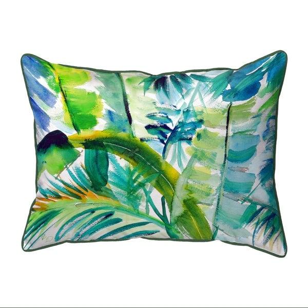 Jungle Greens Large Pillow 16x20