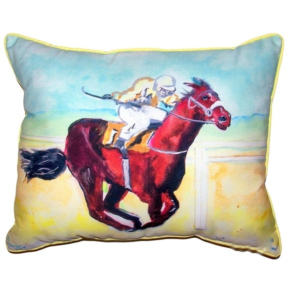 Airborne Horse Large Pillow 16x20