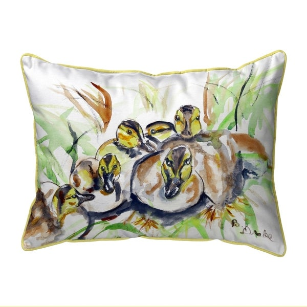 Ducklings Large Pillow 16x20
