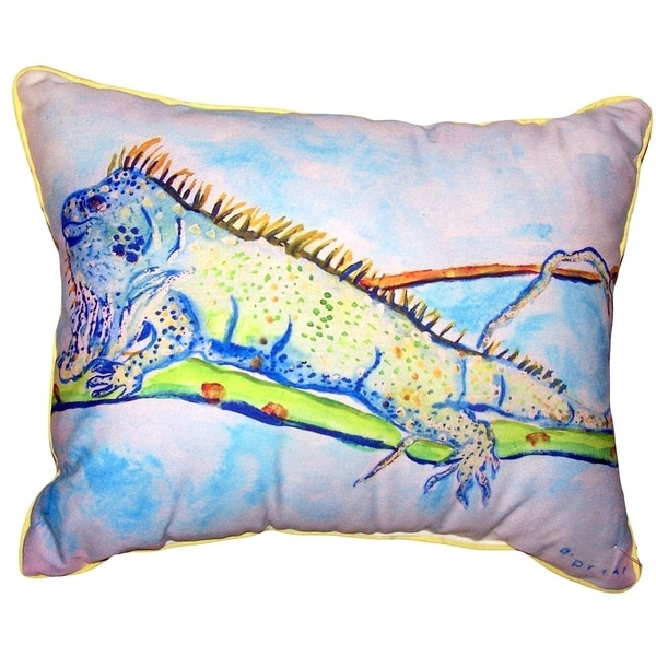 Iguana Large Pillow 16x20