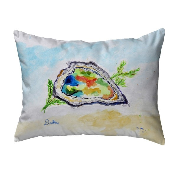 Colorful Oyster Noncorded Pillow 11x14