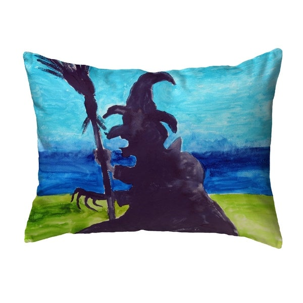 Wicked Witch Noncorded Pillow 11x14