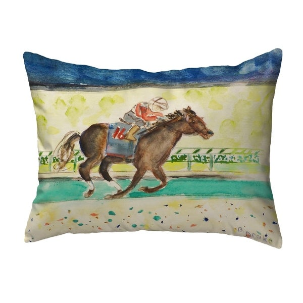 Derby Winner Small No-Cord Pillow 11x14