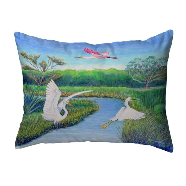 Marsh Wings Noncorded Pillow 11x14