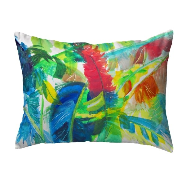 Abstract Palms Noncorded Pillow 11x14