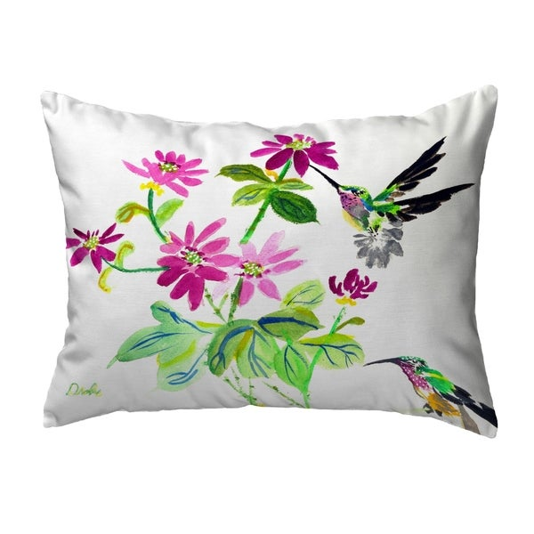 Ruby Throat Noncorded Pillow 11x14