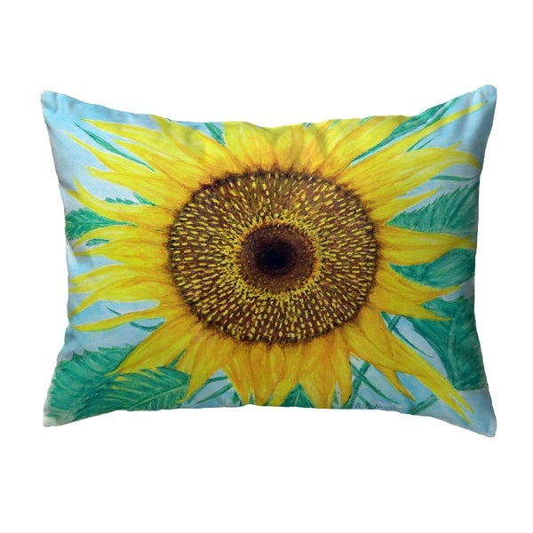 Dick's Sunflower Noncorded Pillow 11x14