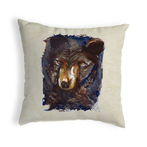 Betsy's Bear Noncorded Pillow 12x12