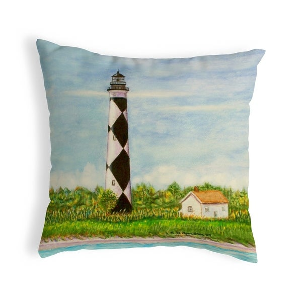 Cape Lookout Small No-Cord Pillow 12x12