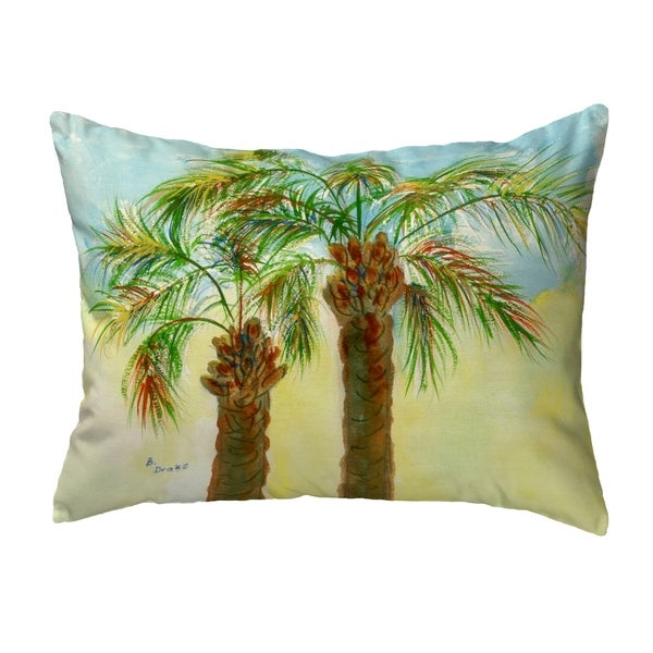 Betsy's Palms Small No-Cord Pillow 11x14