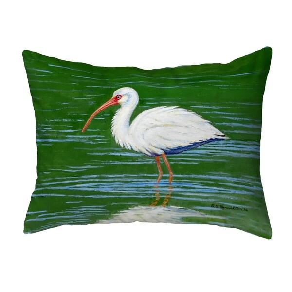 Dick's White Ibis Small No-Cord Pillow 11x14