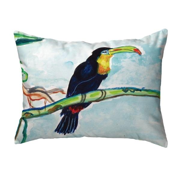 Toucan Small No-Cord Pillow 11x14