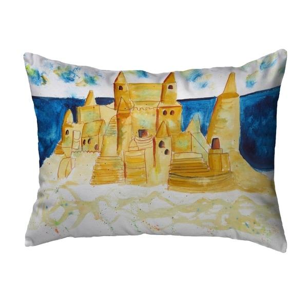 Sand Castle Noncorded Pillow 11x14