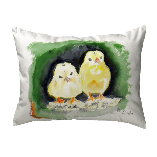 Chicks Small No-Cord Pillow 11x14