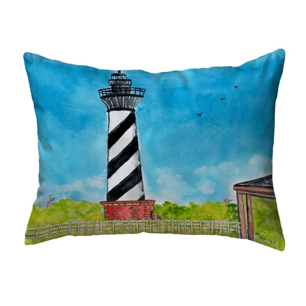 Hatteras Lighthouse Noncorded Pillow 11x14