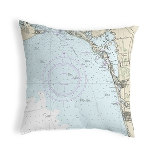 Link to Estero Bay, Bonita Springs, FL Nautical Map Noncorded Pillow 12x12 Similar Items in Women's Shoes