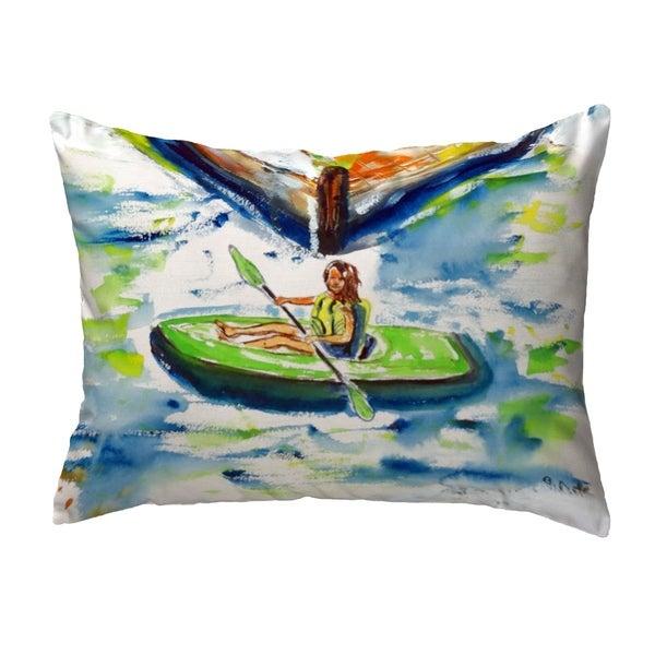 Eva Small No-Cord Pillow 11x14