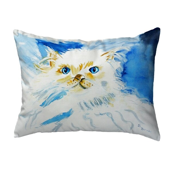 Junior the Cat Small No-Cord Pillow 11x14