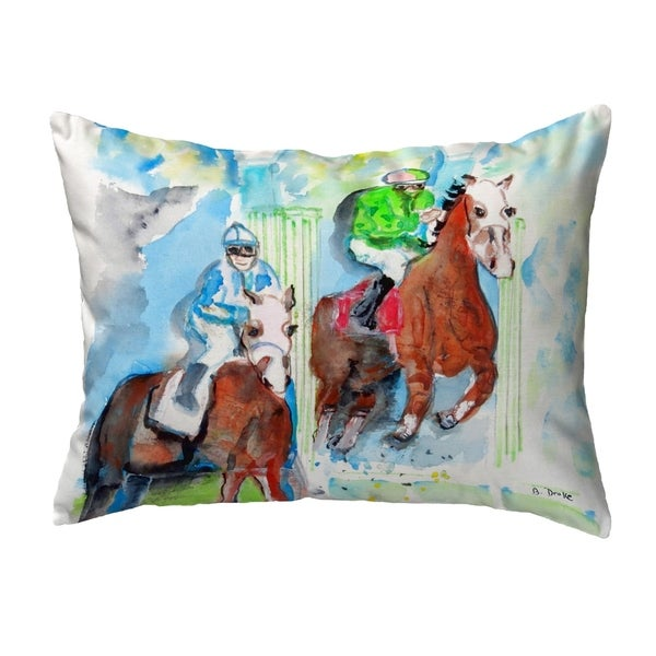 Starting Gate Small No-Cord Pillow 11x14