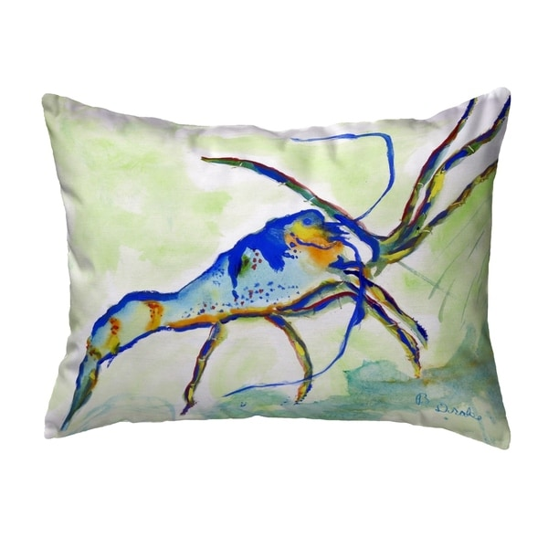 Florida Lobster Small No-Cord Pillow 11x14