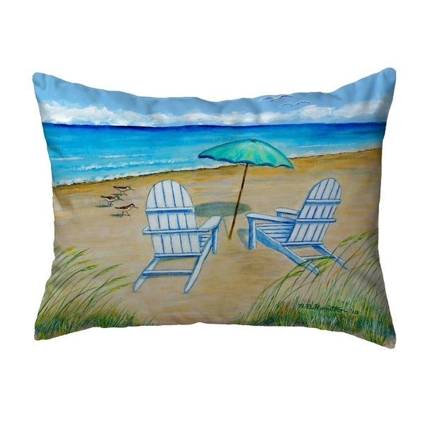 Adirondack Small No-Cord Pillow 11x14