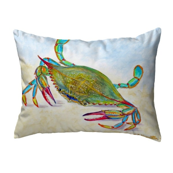 More Than Blue Noncorded Pillow 16x20