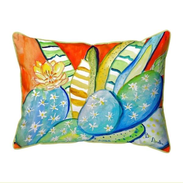 Cactus III Extra Large Zippered Pillow 20x24